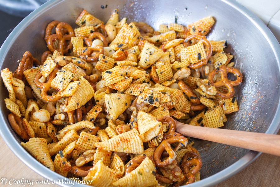 Togarashi Chex Mix | Cooking with a Wallflower