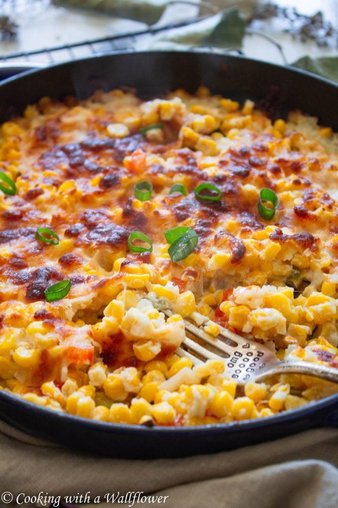 Korean Style Corn Cheese   Cooking with a Wallflower