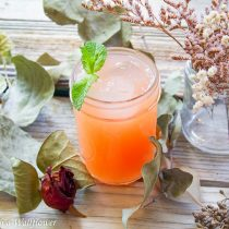 Sparkling Guava Lemonade | Cooking with a Wallflower
