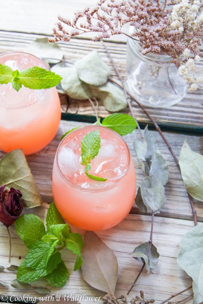 Guava Rose Lemonade | Cooking with a Wallflower