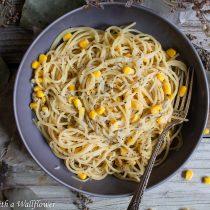 Corn Cacio e Pepe | Cooking with a Wallflower