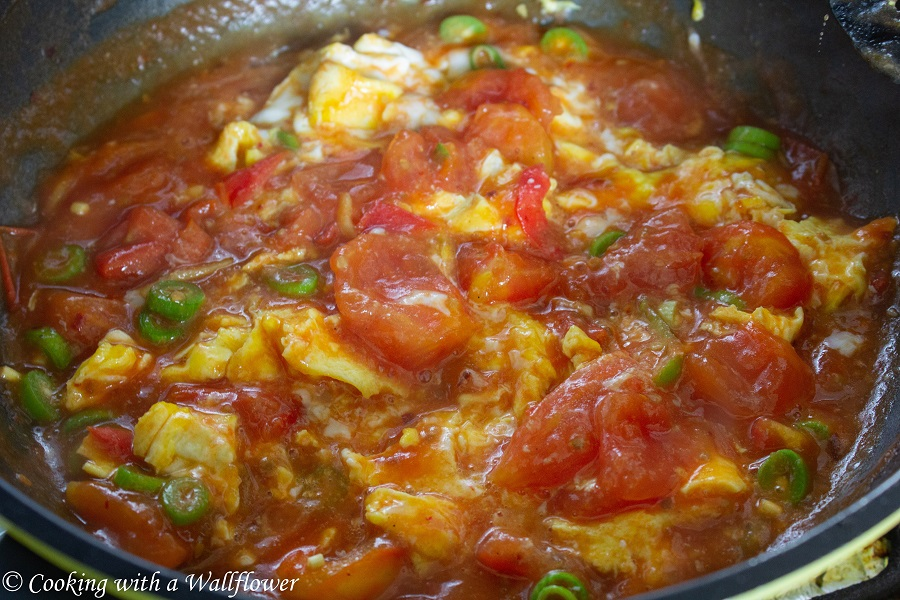 Tomato Egg Rice | Cooking with a Wallflower