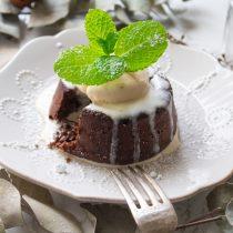 Chocolate Hazelnut Lava Cake | Cooking with a Wallflower
