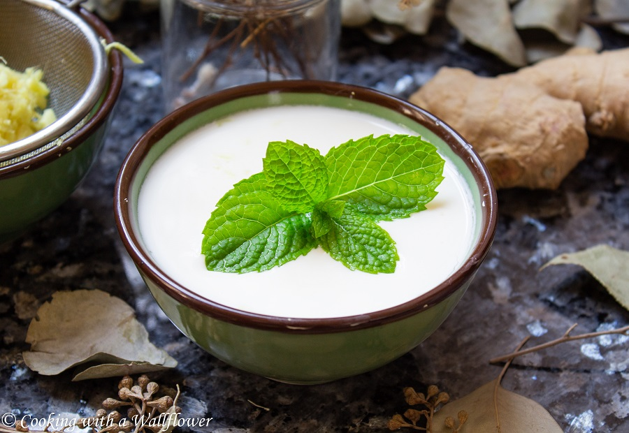 Ginger Milk Pudding   Cooking with a Wallflower