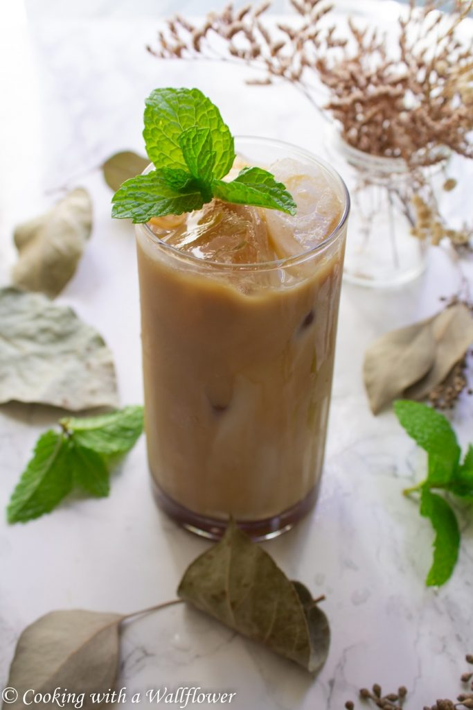 Iced Brown Sugar Oat Milk Latte   Cooking with a Wallflower